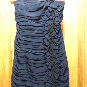 Strapless Shoshanna dress